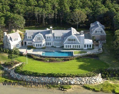 #7754 10,000 square foot property sits upon a bluff - Image 1 - Gay Head - rentals