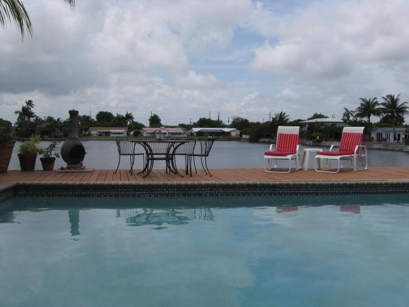 Welcome to Tranquility! - TROPICAL POOL HOME on TRANQUIL LAKE - Fort Lauderdale - rentals