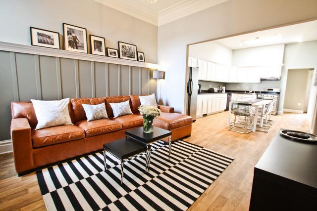 Living room - Mission Concourse - San Francisco - rentals