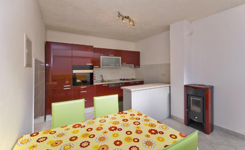 kitchen - Family apartment 2+2 in Brela - Brela - rentals