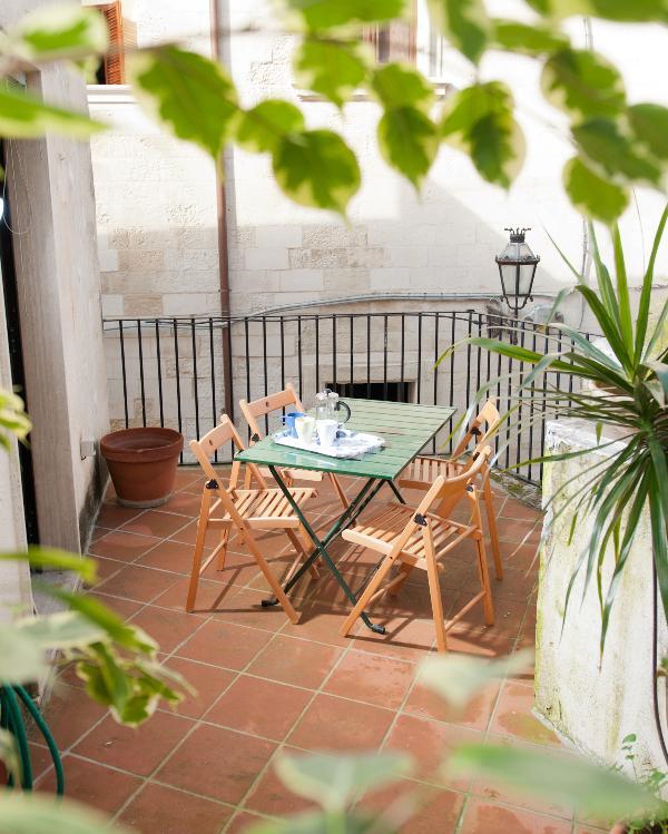 balcon terrace - A Corte Balduini Home Holiday - Lecce - rentals