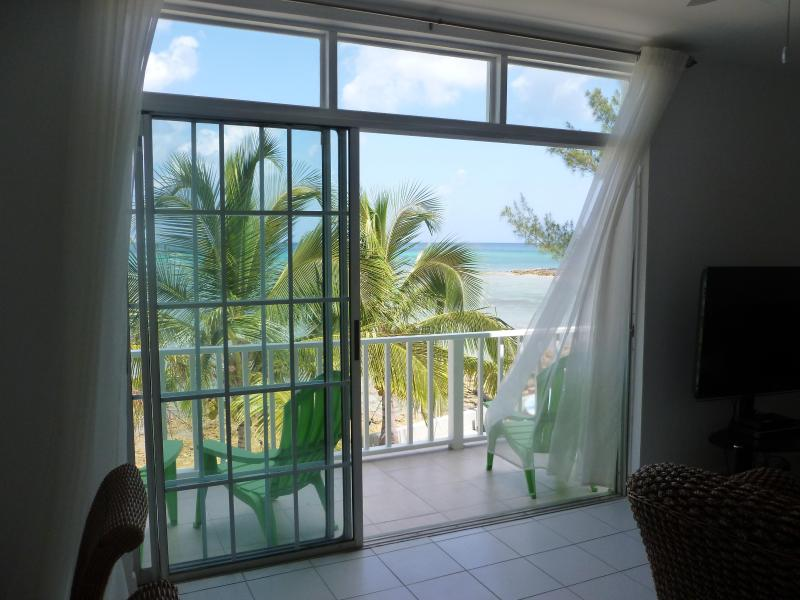 """View from Lounge - Ocean Front in Paradise """"Flamingo Cay Apartment"""" - Nassau - rentals"""