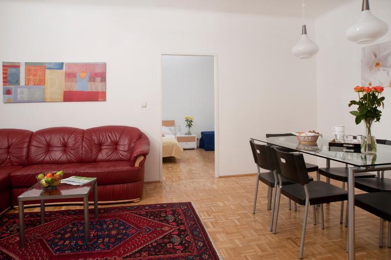 Living room - Spacious flat ApF21/18 - Vienna - rentals