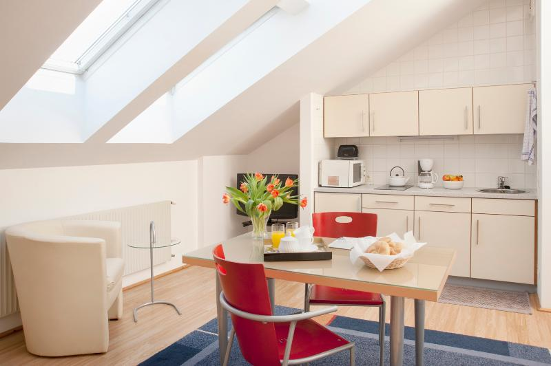 Dining place and kitchen - Cozy Studio Ap4 - Vienna - rentals