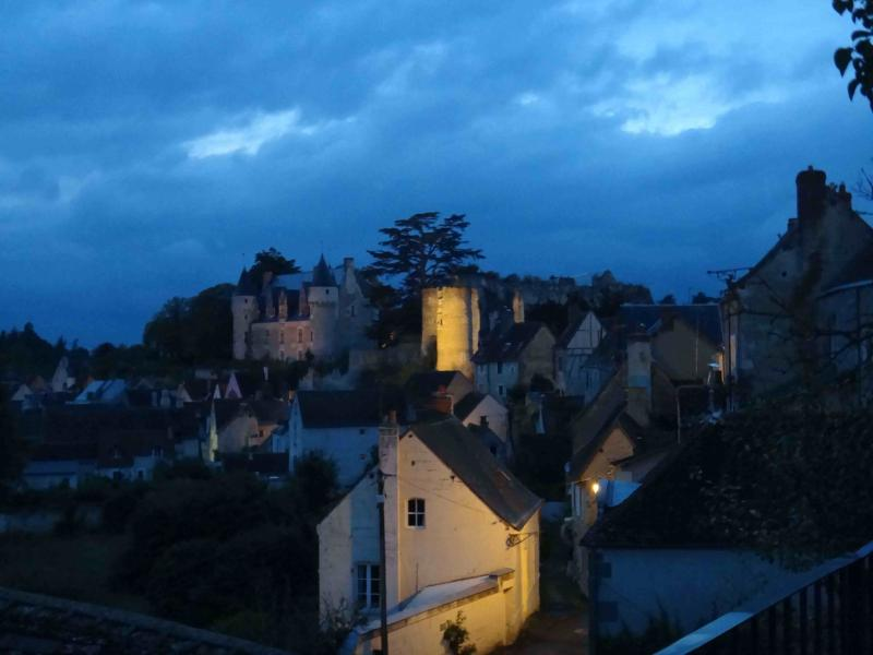 views from house at night in Montresor - Lovely views on castle - cottage with terrace - Montresor - rentals