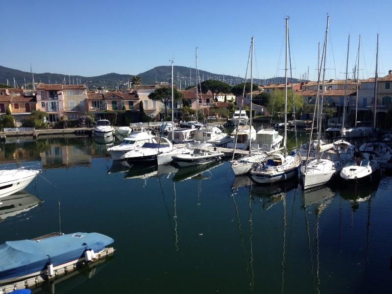 View from terrace - Romantic Apartment with a Pool and Terrace, Near St Tropez (Cote d'Azur) - Port Grimaud - rentals