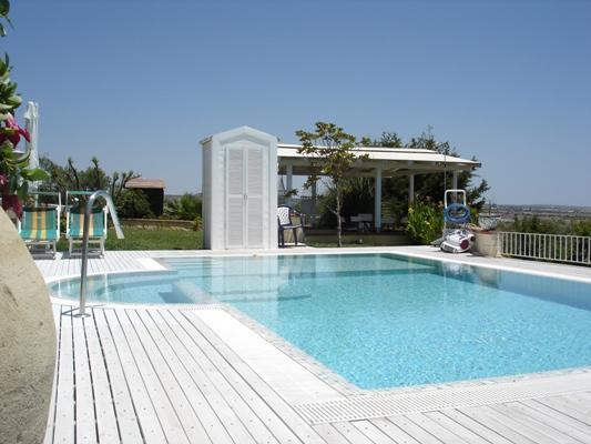 Pool - Guest House Cento Giare - Marina di Ragusa with pool - Marina di Ragusa - rentals