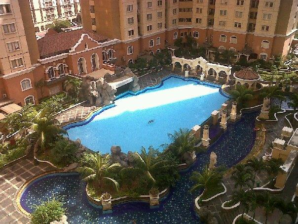 Tropical garden and swimmingpools - NICE and CLEAN appartment with cityview JAKARTA - Jakarta - rentals