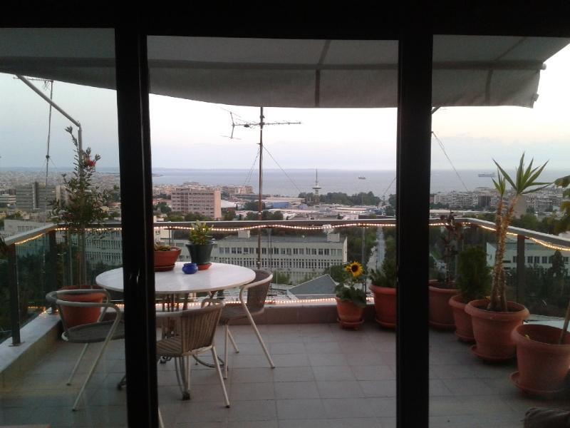 Balcony and view - Central Penthouse Panorama - Thessaloniki - rentals