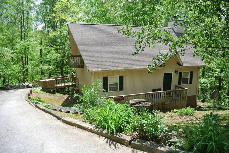 Front View - Jubilee - Mountain Cottage with fire pit and activ - Sautee Nacoochee - rentals