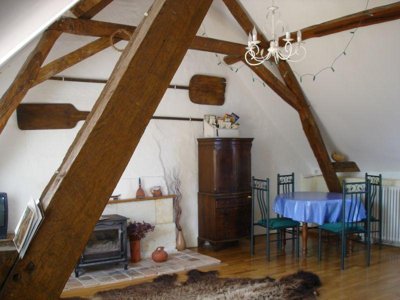 Le Grenier living room - Holiday apartment for up to 4 people In Anjou - Le Thoureil - rentals