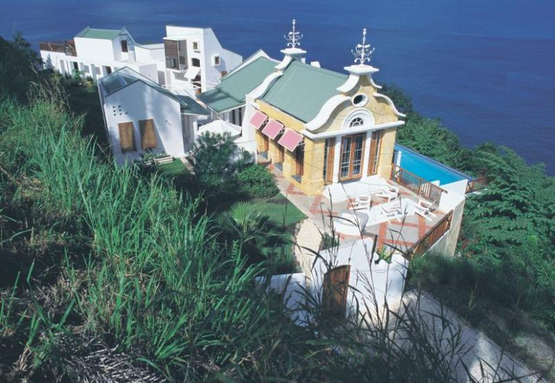 Villa Being Overview - Being - The Hippest, Happiest Spot in Tobago - Arnos Vale - rentals