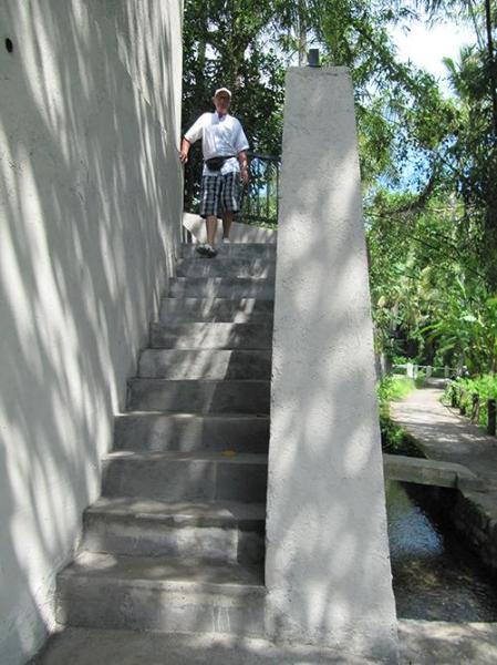 Steps to first level and the pool - Villa Nangka - Private, tranquil, glorious views - Ubud - rentals