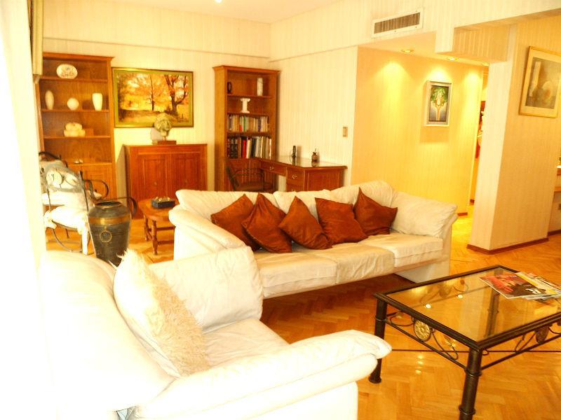 Bright Living Room - Crazy Offer!!! Huge 3br+3ba Recoleta - Buenos Aires - rentals