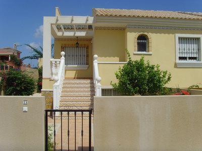 Front of villa - Casa Abra - Alicante - rentals