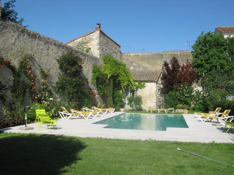 pool and garden - Les Jardins de la Livrée - Villeneuve-les-Avignon - rentals