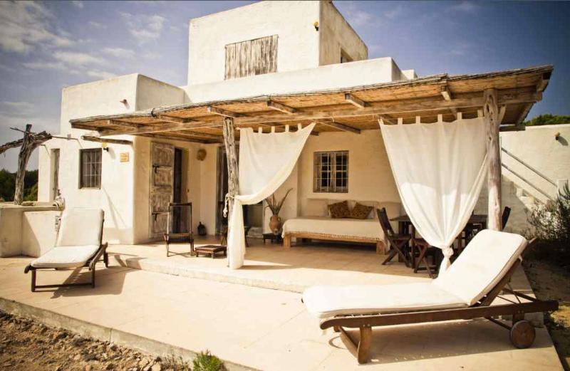 Facade - House/Villa Es Cap de Barbaria for rent /6 people - Formentera - rentals