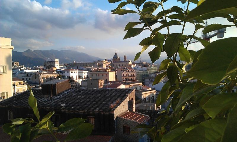 From terrace - Charming rooftop apartment downtown - Palermo - rentals