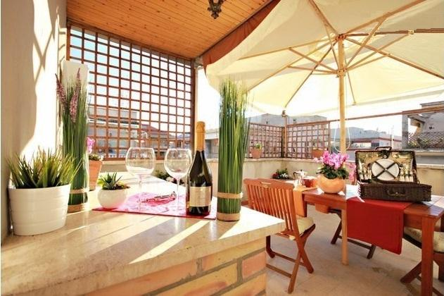 The Terrace!!! - Luxurious BRIGHT-penthouse With Terrace Near VATICAN - Rome - rentals