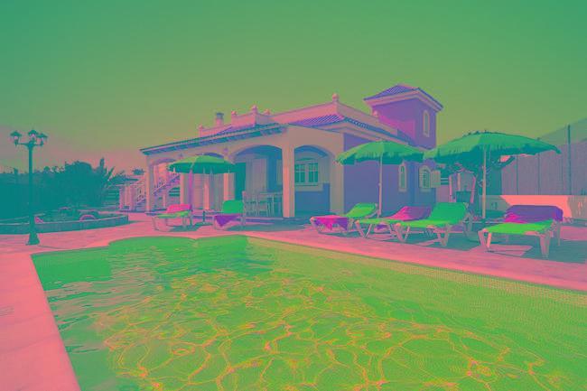 General View - Villa La Luna - Caleta de Fuste - rentals