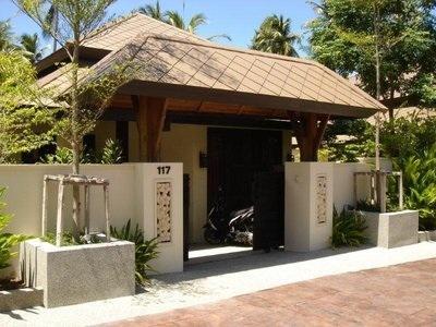 The entrance - Samui BnB Villa - Bed&Breakfast - Mae Nam - rentals