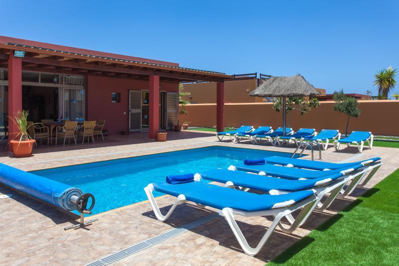 Exterior piscina - Villa Romana - Caleta de Fuste - rentals