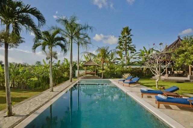 Pool 18 m - Luxury 5BR Rice Field View, Junno Villa, Canggu - Canggu - rentals