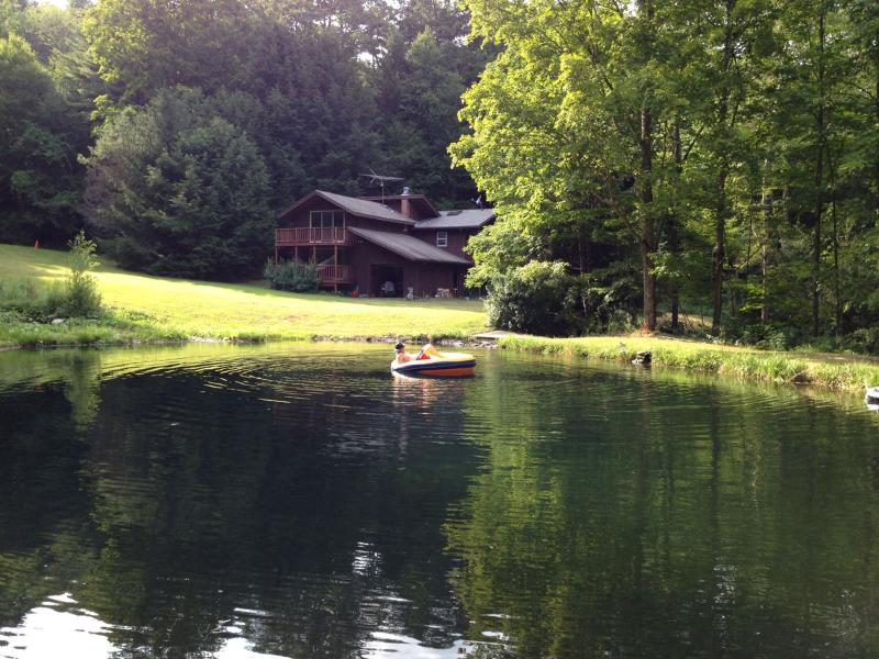 Listening to Tanglewood live - no swimming, no lifeguard - Secluded Hideaway in Berkshire and Columbia county - Hillsdale - rentals