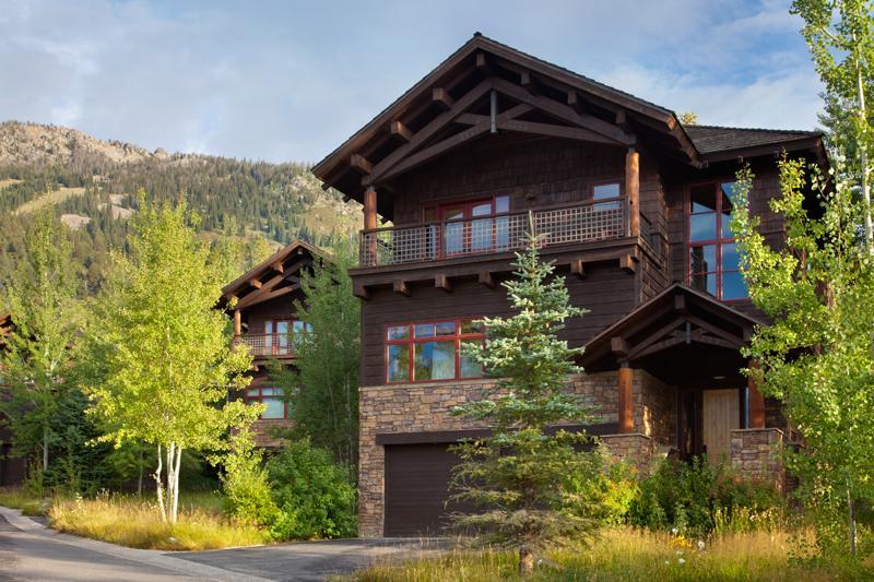 Front Exterior - Granite Ridge Lodge 1 - Teton Village - rentals