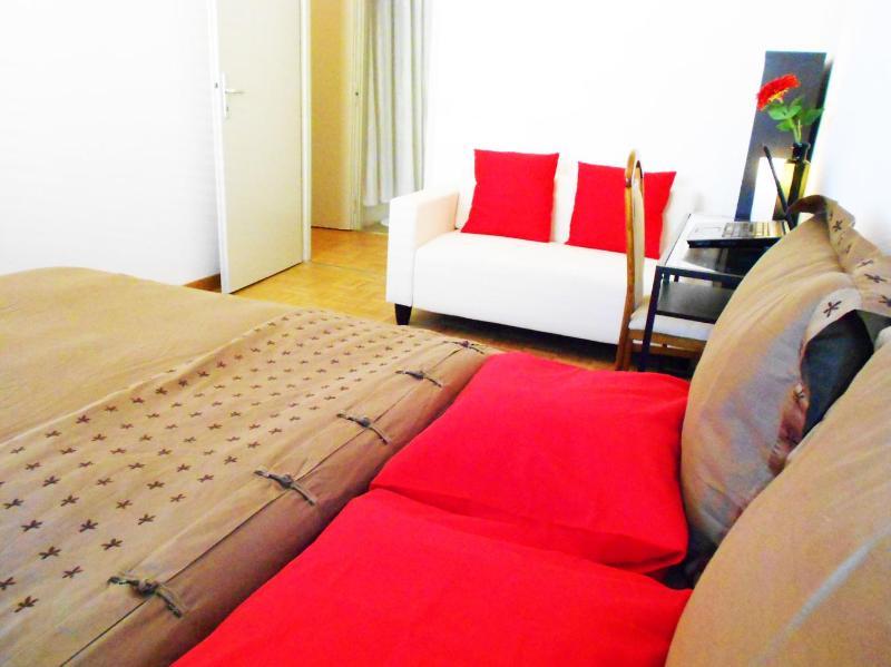 nice size of bedroom - Bed in geneva city - Geneva - rentals
