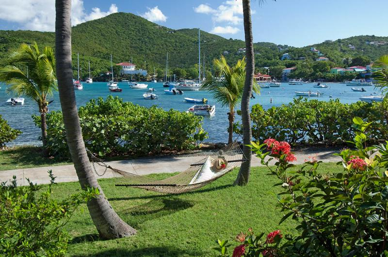 Relax in a hammock - Gallows Point  - 11D Waterfront with Harbor View - Cruz Bay - rentals