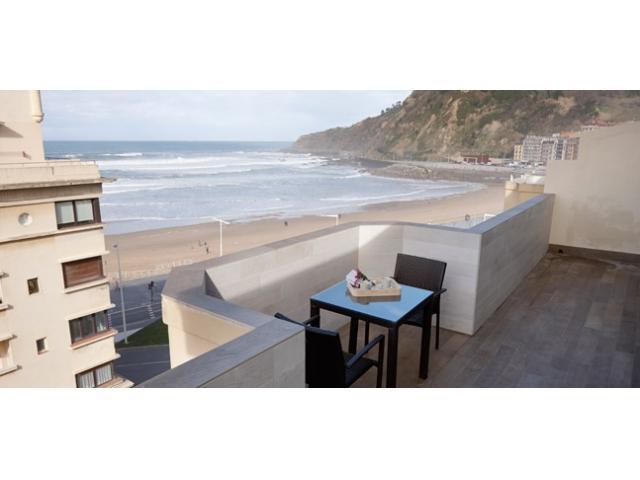 Beach House   Terrace overlooking the sea - Image 1 - San Sebastian - Donostia - rentals