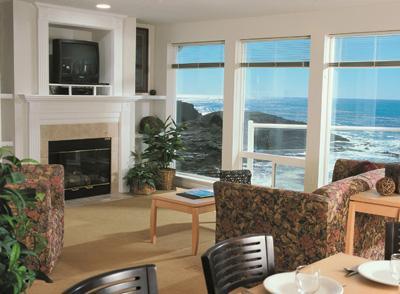 Great Views! - 2-bed Top Floor CENTRAL OREGON COAST OCEAN FRONT - Depoe Bay - rentals