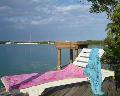 Lazing on the Dock - 2-bedroom waterfront cottage - Andros - rentals