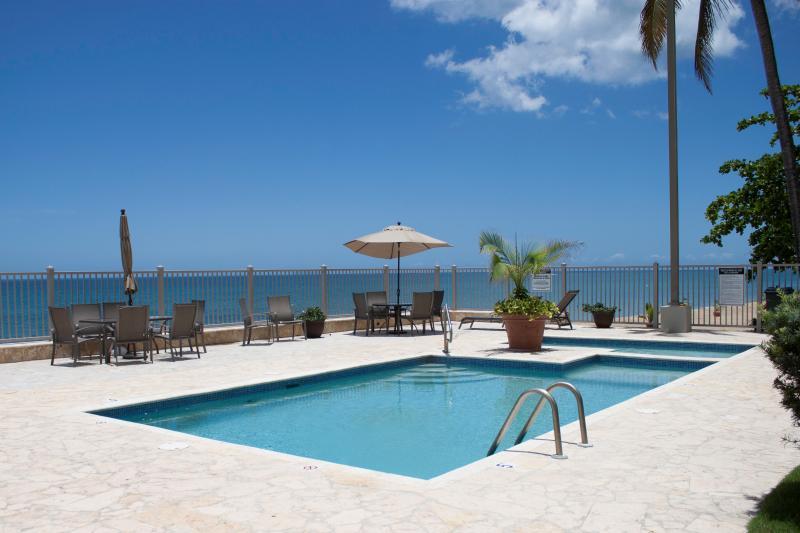 Pool - Beachfront Affordable 2 Bedroom Condo - Rincon - rentals