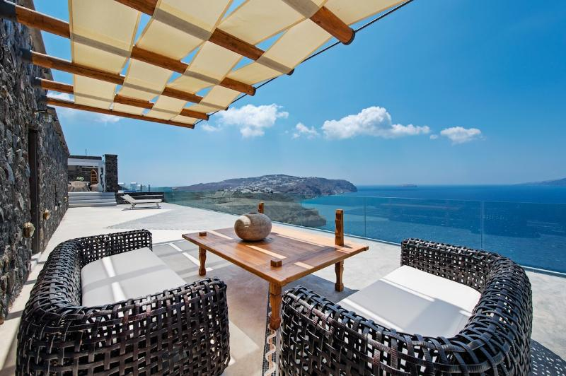 Balcony - Cavo Ventus, infinity pool and complete privacy - Akrotiri - rentals