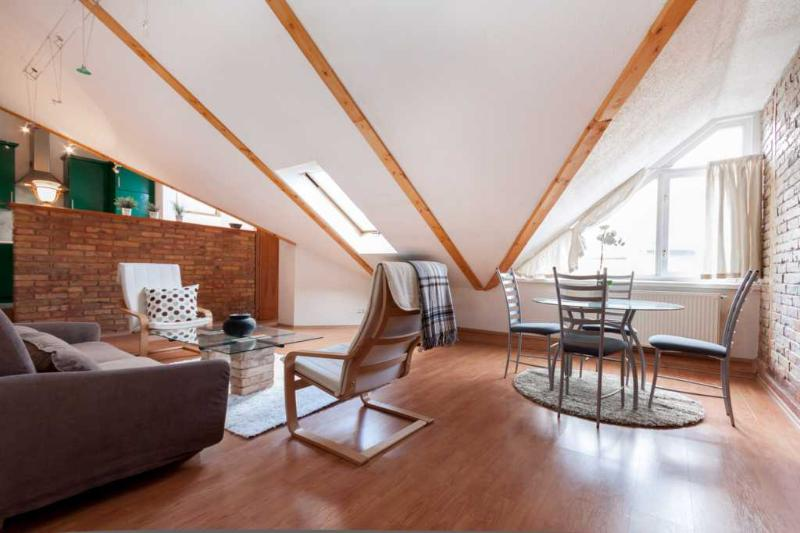 Beautiful Air-Conditioned Loft Apartment in Budapest - Image 1 - Budapest - rentals