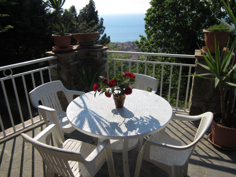 Bellavista - A terrace with seaview - Image 1 - Santa Maria di Castellabate - rentals