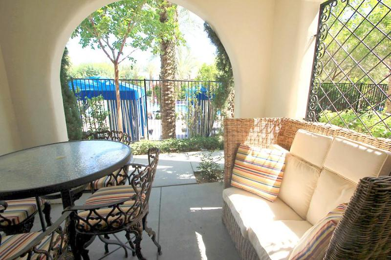 Welcome to our beautiful poolside condo at the Legacy Villas! - Exquisite 2BR Ground-Floor Condo by Main Pool - La Quinta - rentals