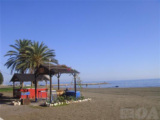 BEACH. LOCAL RESTAURANT AREA GRILLED FISH. - Costa del Sol. Gorgeous Apt. 1st Line Beach Malaga - Malaga - rentals