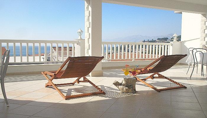 Villa Bonaca -  nice apartment with sunny terrace - Image 1 - Baška - rentals
