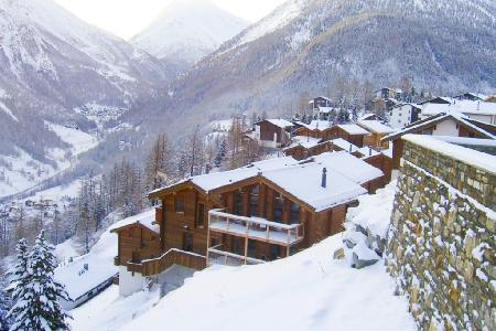 Stirling Luxury Chalet with floor-to-ceiling windows, 5 balconies & free shuttle to slopes - Image 1 - Saas-Fee - rentals