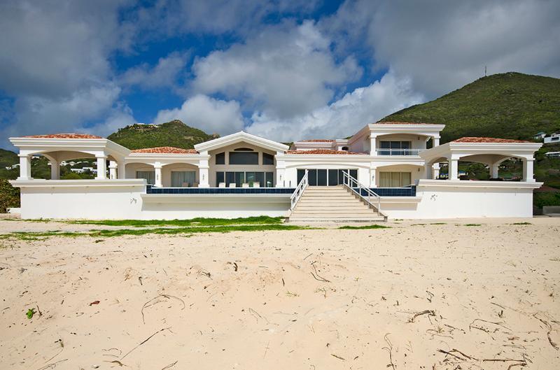Casa Sunshine... Guana Bay, St Maarten 800 480 8555 - CASA SUNSHINE...spacious beach front villa on Guana Bay, St Maarten - Guana Bay - rentals