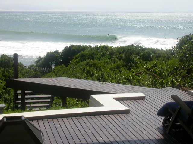 AT the BEACH deck - At The Beach - Jeffreys Bay - rentals