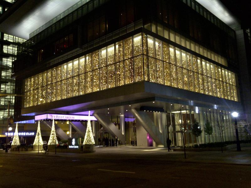 Ritz Carlton Entrance - Ritz Carlton Toronto Residences - Toronto - rentals