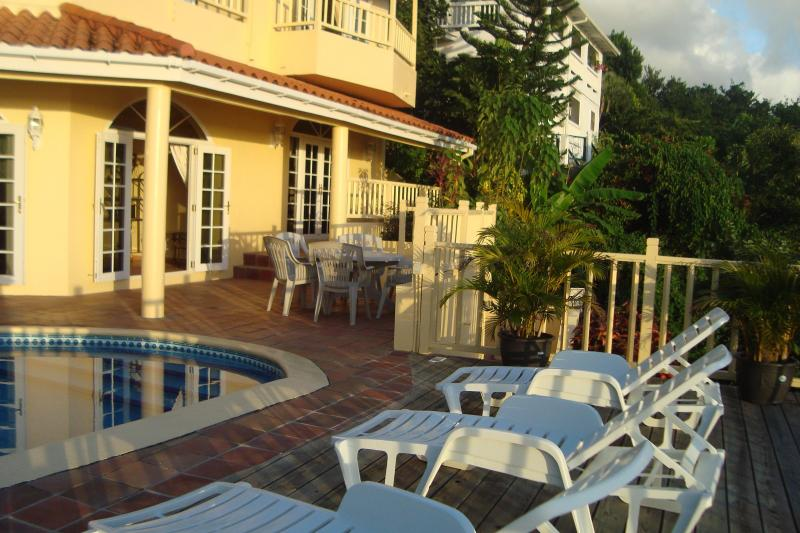 Absolutely Beautiful - Mango Tree Villa,  Sleeps 8  Great Location For Family & Friends - Gros Islet - rentals