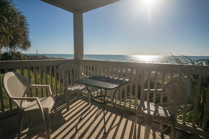 Enjoy fabulous views of the ocean from your private balcony - Oceanfront - Can't Get Closer to the Beach! - Surfside Beach - rentals
