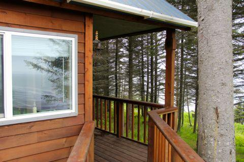 Ocean View Cabin on the Bluff (Augustine Cabin) - Image 1 - Anchor Point - rentals