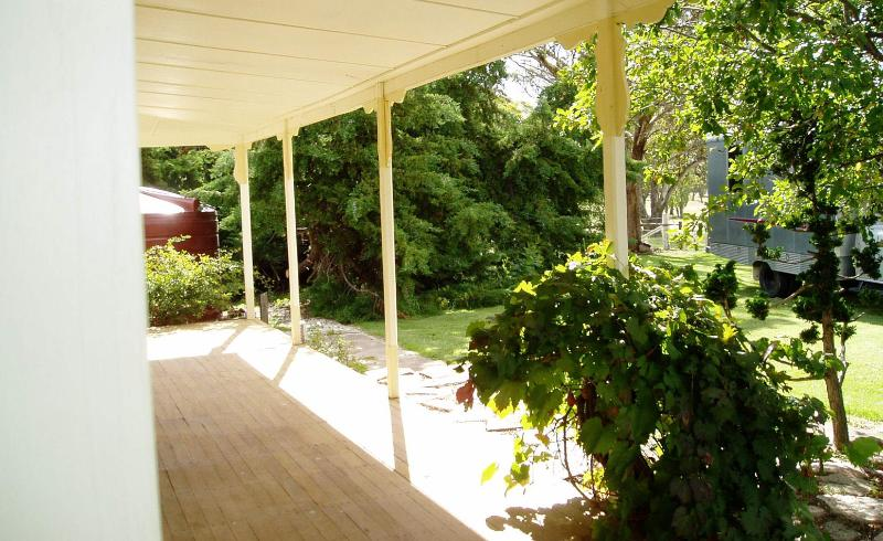 View from front verandah - Oakhurst Cottage FarmStay - Deepwater - rentals
