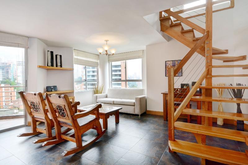 Charming Split Level Penthouse - Image 1 - Medellin - rentals